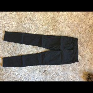 J brand Maria high rise skinny jeans- black